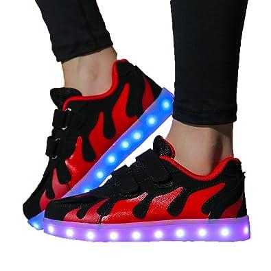 Viken Azer UK LED Kinder Schuhe 7 Farbe USB Aufladen Outdoor