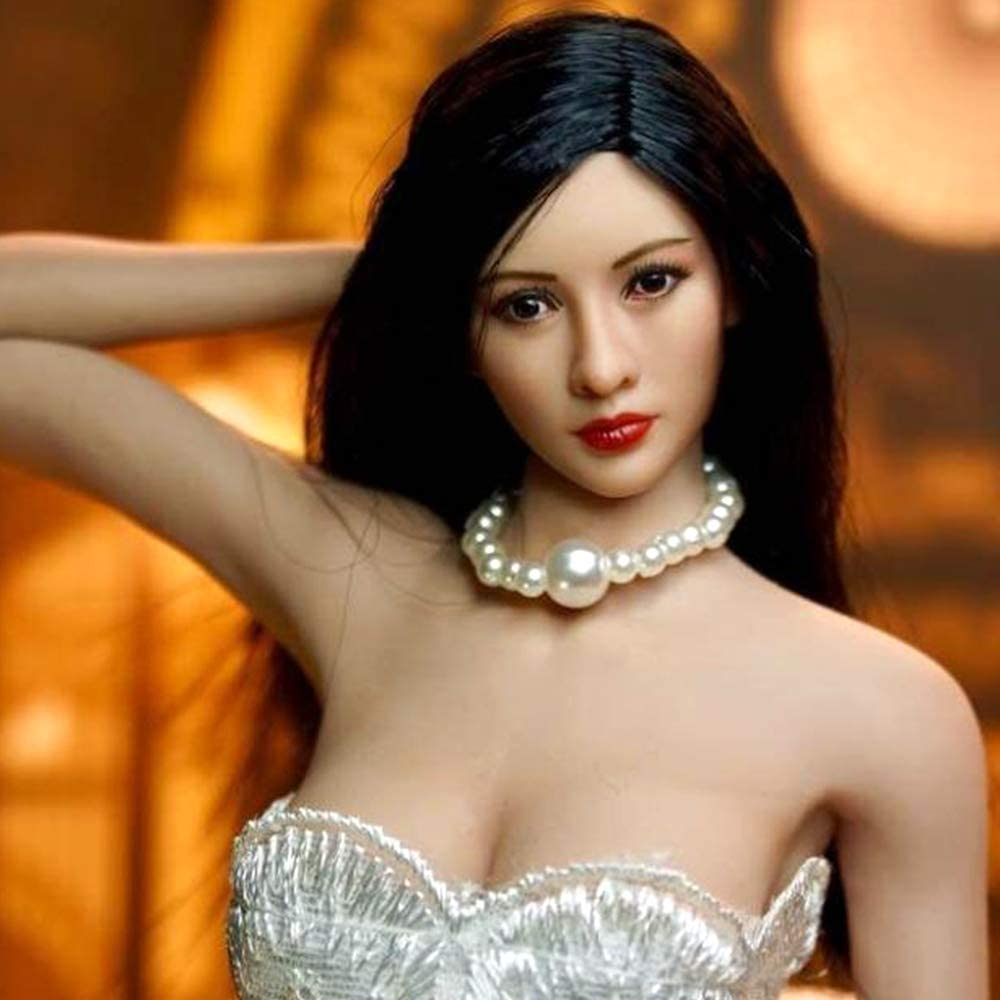 1//6 Female Head Sculpt REMOVABLE  WIG For 12/'/' PHICEN TBL Hot Toys Figure ❶USA❶