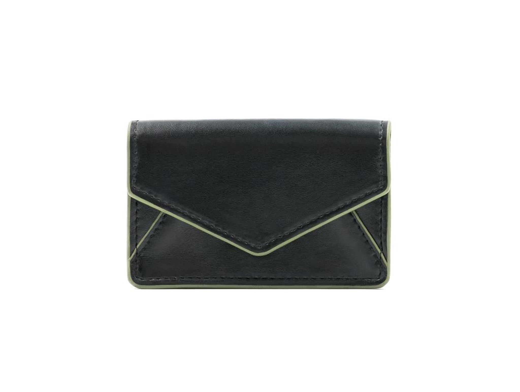 About Face Designs Bobbi Chicago Belmont Business Card Case Waist Pack, Black, One Size