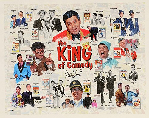 - Jerry Lewis Autographed 16