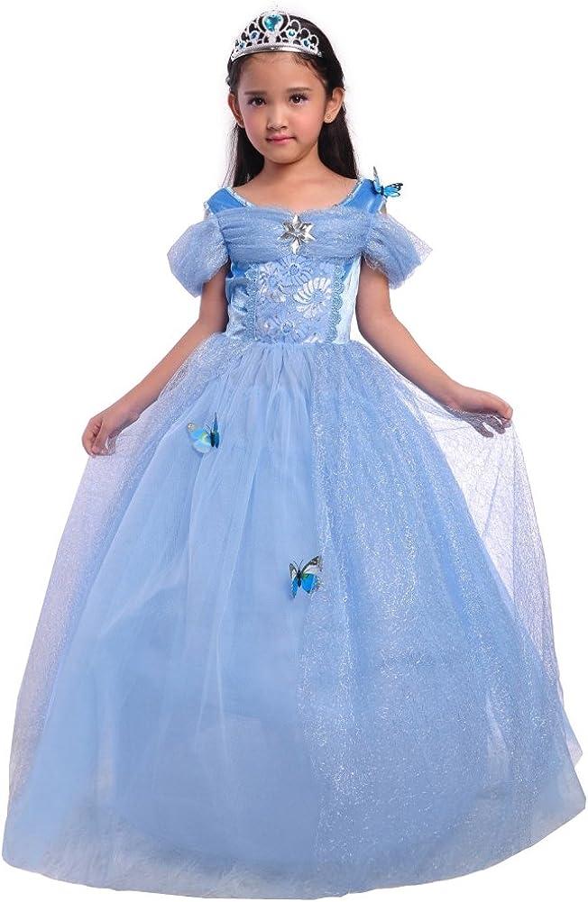 Dressy Daisy Girls Princess Dress Costume Christmas Halloween Fancy Dresses Up Butterfly 612s5iHupfL