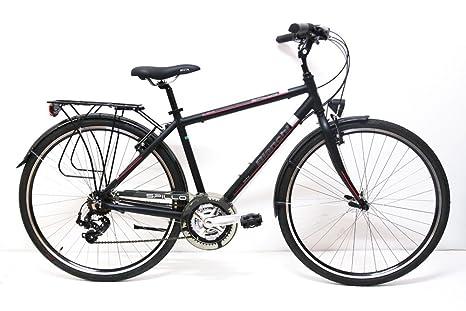 Bianchi City Bike 28 Spillo Rubino 21v Uomo Nerorosso 47 Amazon