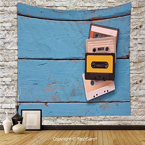 FashSam Tapestry Wall Blanket Wall Decor Vintage Cassette