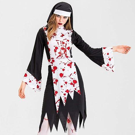 Waniba Mujeres Disfraz de Fiesta de Maquillaje de Halloween para ...