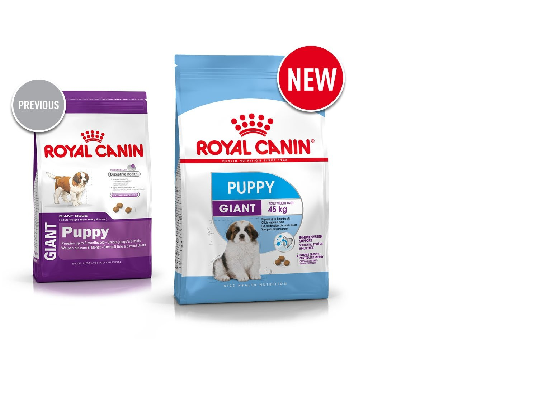 Royal Canin Giant Puppy Nourriture pour Chien 15 kg 02RCGBP15
