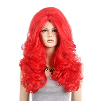 "Stfantasy Wigs for Women Extra Long Curly Heat Resistant Synthetic Hair 28"" 360G Fluffy Wig"