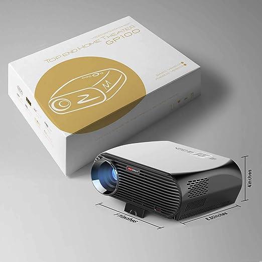 Bolsillos proyector Home Mini HD LED Proyector TRAG Baren ...