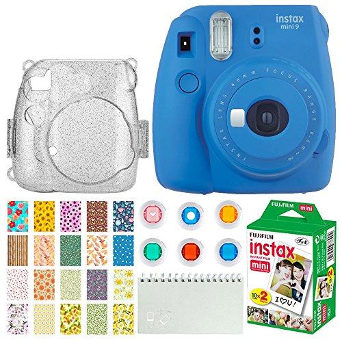 Fujifilm Instax Mini 9 Instant Camera  + Fujifilm Instax Min