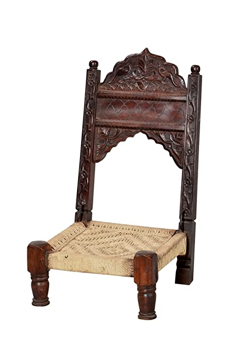 india classical low chair high back throne in 1900 rich carving