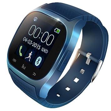 KawKaw M26 - Smartwatch Ultrafino con Pantalla LCD de 1,4 ...