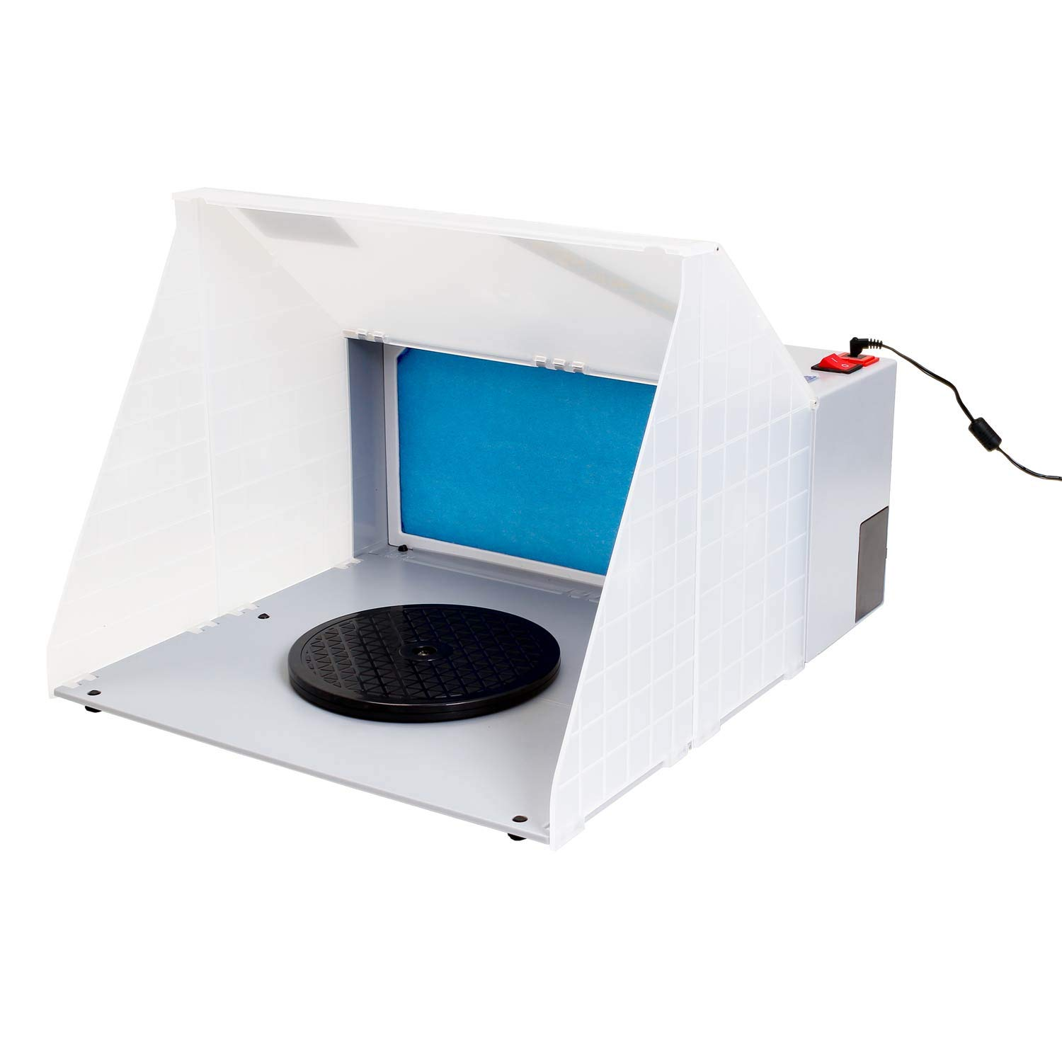 Master Airbrush Brand Portable Hobby Airbrush Spray Booth for Painting All Art, Cake, Craft, Hobby, Nails, T-Shirts & More. by Master Airbrush