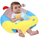 AIPINQI Baby Support Sofa, Infant Sitting Chair Safe Baby Sofa Chair Baby Sit Up Chair Back Head Protect Seat Learn to Sit Ch