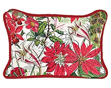 Michel Design Works Decorative Rectangular Throw Pillow, Holiday