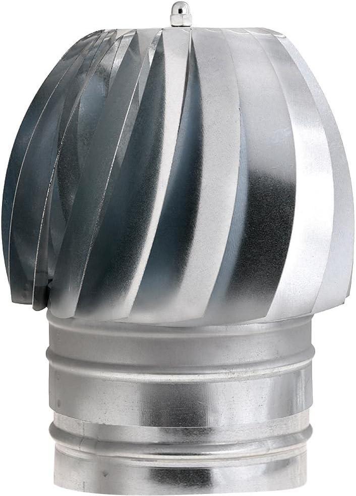 Wolfpack 22011132 Sombrero Extractor Galvanizado para Estufa 200mm