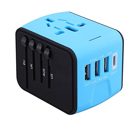 All In One Universal USB Travel Power Adapter
