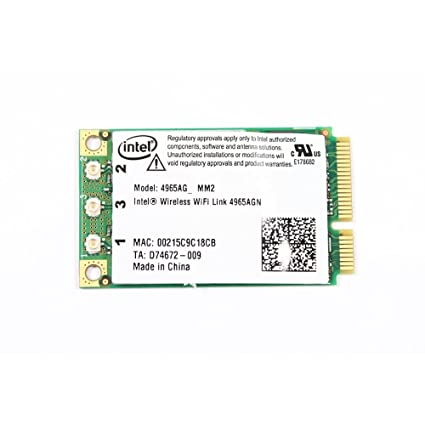wlan intel wireless wifi link 4965agn