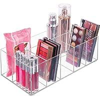 mDesign Organizador de maquillaje – Caja transparente