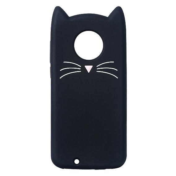 size 40 f8236 cbde5 Mulafnxal Case for Motorola Moto E4 Plus,Soft Silicone 3D Cartoon Animal  Slim Cover,Cute Cases Kids Girls Shock Proof Rubber Gel Kawaii Character ...