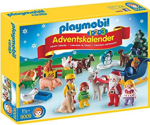 PLAYMOBIL 9009 - 1.2.3 Adventskalender