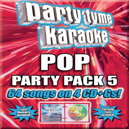 Party Tyme Karaoke - Pop Party Pack 5 [4 CD+G]