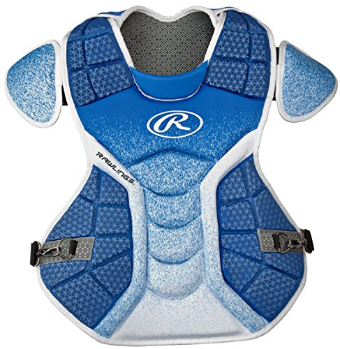 Rawlings Sporting Goods Catchers Velo Series Intermediate Chest Protector, 15.5'', Royal/White by Rawlings