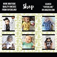 "Funny Baby Clothes Fayebeline Boutique Quality Unisex Baby Gift ""I Only Date Models"" Black 0-6M to 3T"