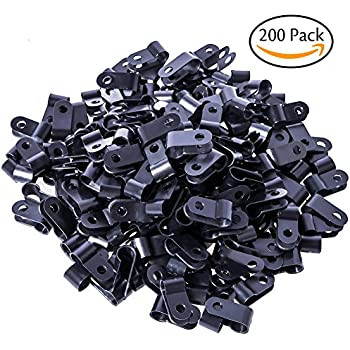 Amazon.com: Cable Matters (200-Pack) Nail-In Cable Clips: Electronics