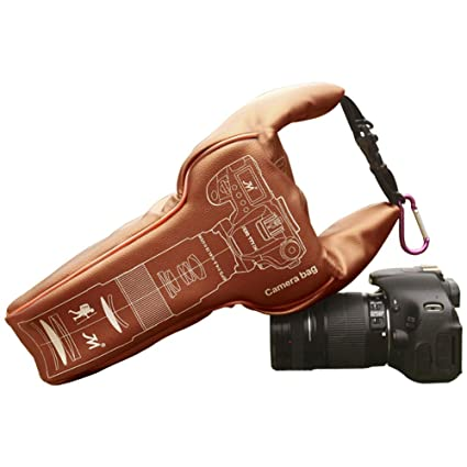homelex Funda para cámara réflex Cámaras de Bandolera para cámara ...
