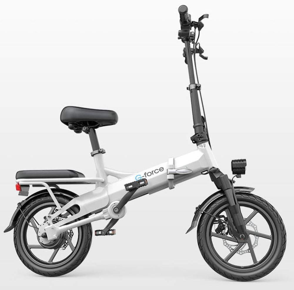 Bicicleta Eléctrica Plegable Tecnología De Accionamiento Sin ...