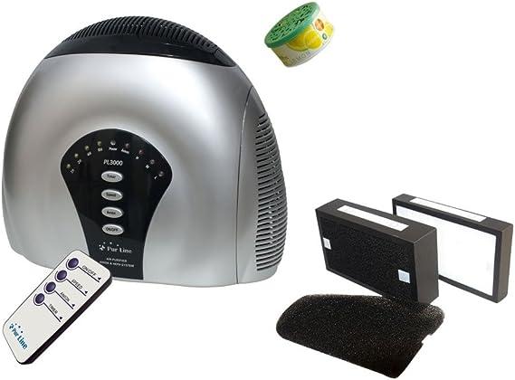 PURLINE PL3000 Purificador de Aire, Ionizador, Filtro Hepa, Carbon ...