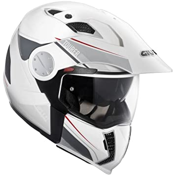 GIVI HX01DN90056 Hps X01D Integral Casco Tourer, Color Negro Mate, Talla 56/S