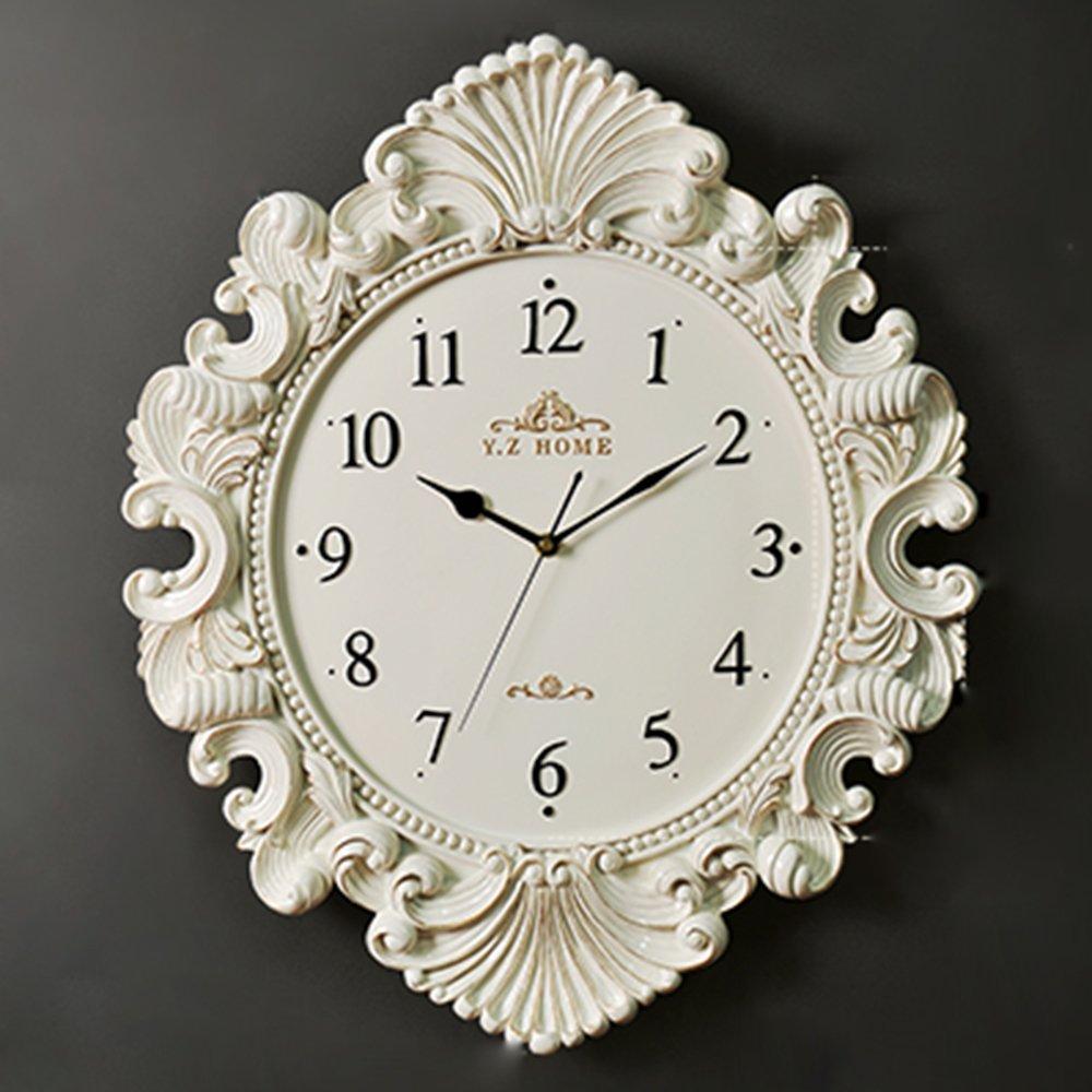 KKLOCK Wanduhr Uhr Wanduhren Lautlos für Wohnzimmer Büro Schlafzimmer Badezimmer Küche Kinderzimmer Mini Einfache