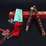 フルート 竹製横笛 竹笛 楽器 ミュージカル 伝統的な手作り (Gキー, したいろ)