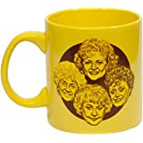 "Golden Girls ""Stay Golden"" 20oz Coffee Mug - Collectibles TV Merchandise - Large Novelty Kitchen Accessory Cup - Unique Gifts"