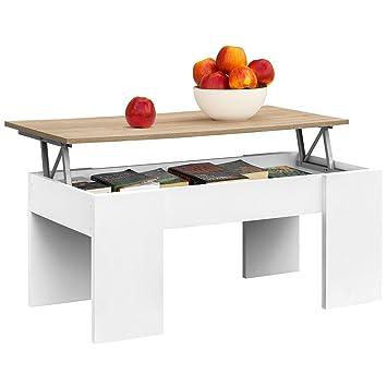 Comifort Lift Up Table Basse Moderne Table Basse Salle A Manger Ou Salon 1 04 X 49 6 X 44 6 52