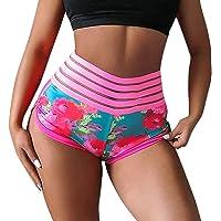 Loosnow Women Sports Yoga Shorts Gym Hip Push Up Scrunch Butt Workout Fitness Hot Pants