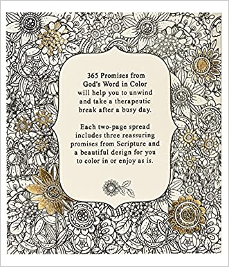 365 Promises From God S Word In Color Scripture And Coloring Pages