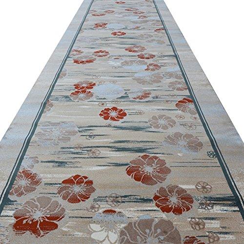 Teng Peng Carpet Into The Entrance Hall Hotel Staircase Corridor Carpet Home Corridor Walkway Stairs Strip Hotel Carpet - A Variety Wedding Rug (Size : 1m x ()