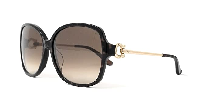 d7b3aa09c9 Image Unavailable. Image not available for. Color  SALVATORE FERRAGAMO  Sunglasses SF671SR 217 Brown Horn 59MM