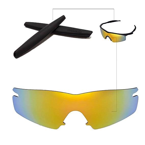 6849b967ac0 Walleva Replacement Lenses + Rubber For Oakley M Frame Strike Sunglasses -  26 Options (24K