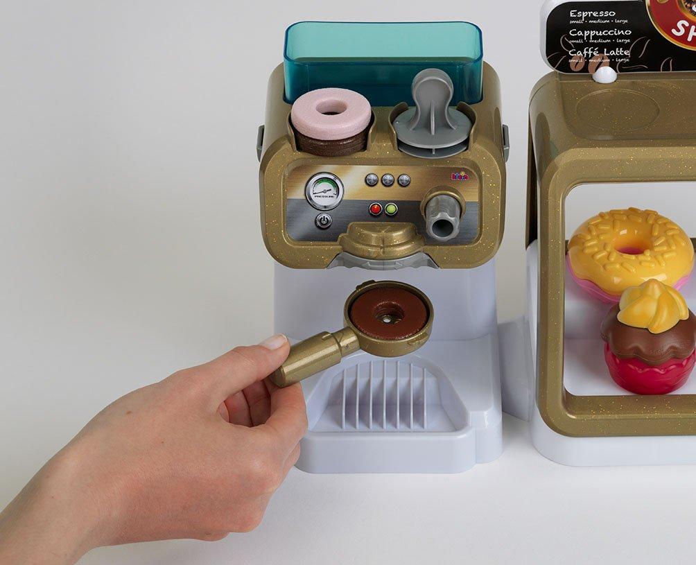 Theo Klein 9501 - Cafetería Con Pantalla Táctil, Datáfono Y Espresso Bar: Amazon.es: Juguetes y juegos