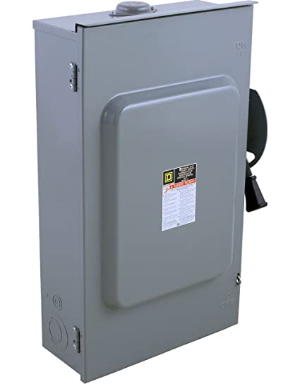 square d by schneider electric d324nrb 200 amp 240 volt 3 pole rh amazon com 400 Amp Electrical Breaker Boxes 400 Amp Breaker Box