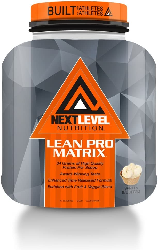 Next Level Nutrition Lean Pro Matrix Vanilla Ice Cream 5lb.