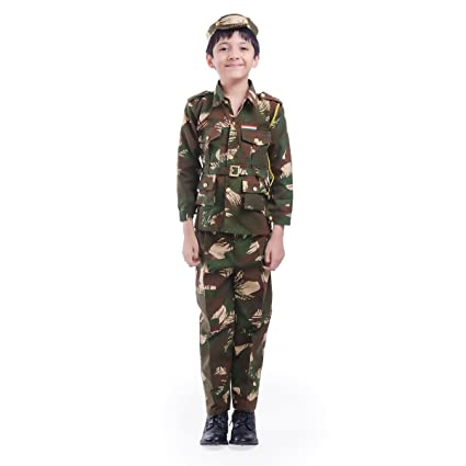4cc7bdd711e Fancydresswale Army/Soldier Costume for Kids (7-8 yrs)