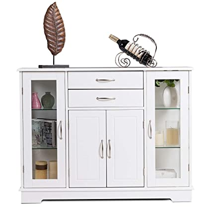 Fantastic Amazon Com Buffet Storage Cabinet Console Cupboard With Interior Design Ideas Apansoteloinfo