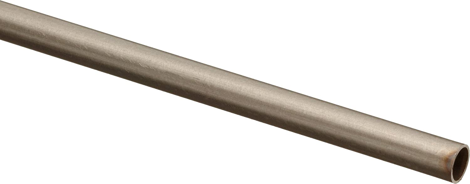 24 Length 9 Gauge 0.148 OD Stainless Steel 316 Hypodermic Tubing 0.01 Wall 0.128 ID