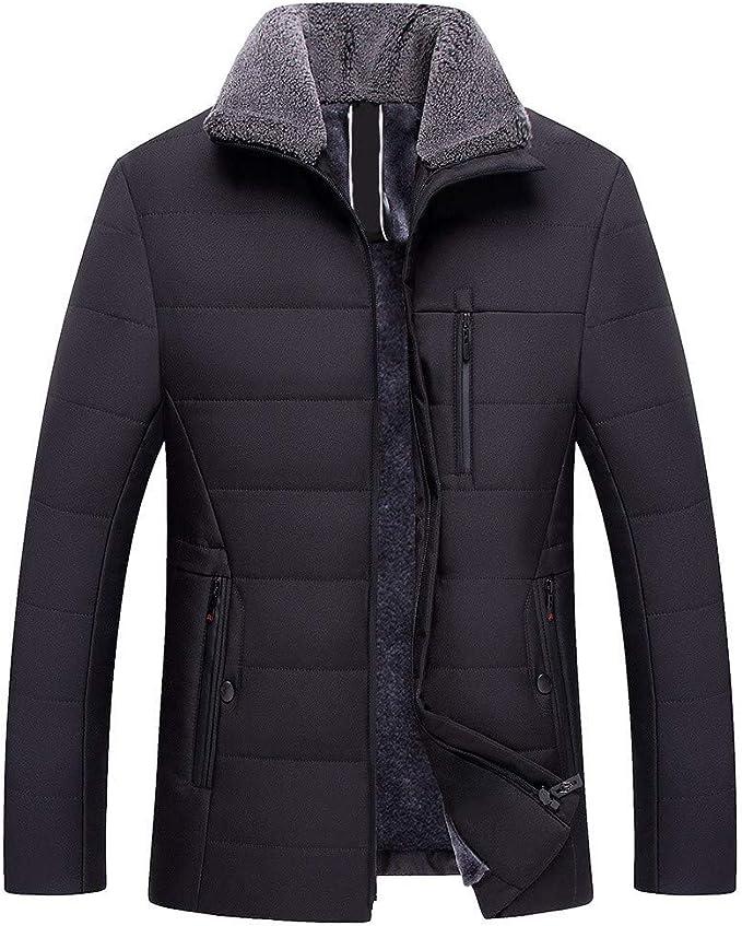 Fashion Men/'s Slim Manteau D/'Hiver Veste Outerwear Pardessus Casual Tops chaud Blazer