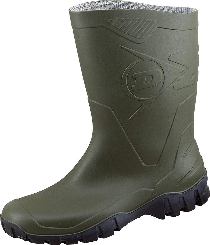 Dunlop Protective Footwear Unisex-Erwachsene Dee-X Gummistiefel inkluisve Hochwertigen Schmutzbeutel aus 100/% Baumwolle