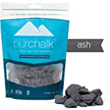Pur Chalk | #1 Best Climbing Chalk | 100% Natural Chalk for CrossFit, Powerlifting & Gymnastics | Eco- Friendly | Safe for Indoor & Outdoor Use | Gym , Workout & Weight Lifting Loose Chalk | 100% Pure Magnesium Carbonate | Non-staining | Non-toxic | 100% Money Back Guarantee