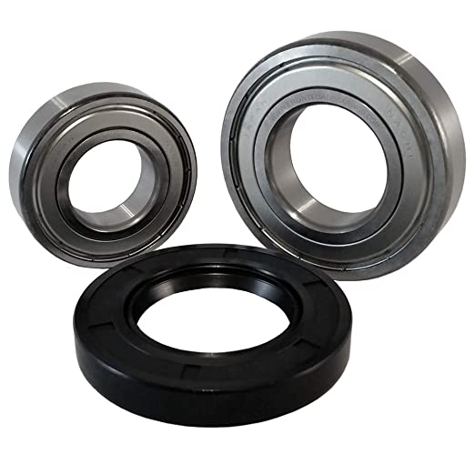 Front Load Bearings Washer Tub Bearing and Seal Kit with Nachi bearings,  Fits Whirlpool and Maytag Tub W10285625 (Includes a 5 year replacement